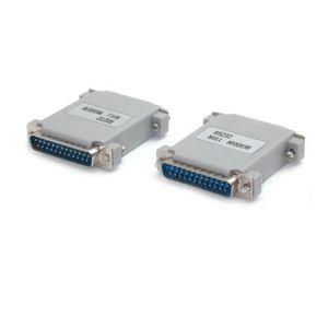 StarTech.com NM25MM - Adaptateur Null Modem DB25 Mâle / Mâle