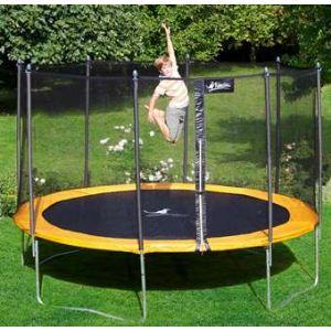 trampoline 430 avec filet protection comparer 28 offres. Black Bedroom Furniture Sets. Home Design Ideas