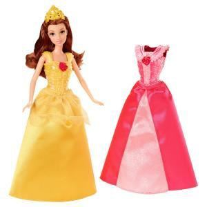 Mattel Disney Princesse paillettes : Belle (X9359)