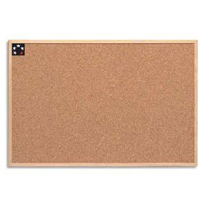 5* office Tableau liège Wstar en cadre bois (60 x 90 cm)