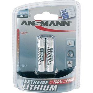 Ansmann Extreme Lithium Micro 2x batteries AAA