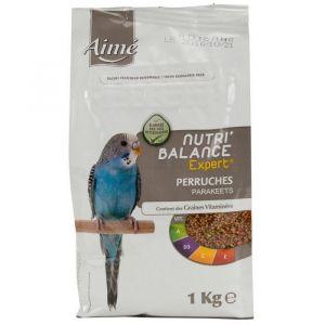 Aimé Nutri'balance - Expert Mélange de graines pour perruches 1kg