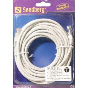 Sandberg 507-51 - Câble réseau RJ45 Cat.5e UTP 7 m