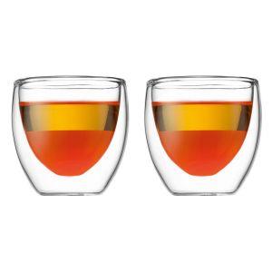 Bodum 4557-10 - 2 verres Pavina double paroi (8 cl)