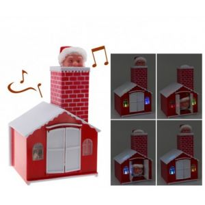 Fomax Père Noël automate et musical