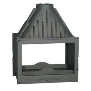 Ferlux 830 - Insert foyer de cheminée en fonte double face 17,5 kw