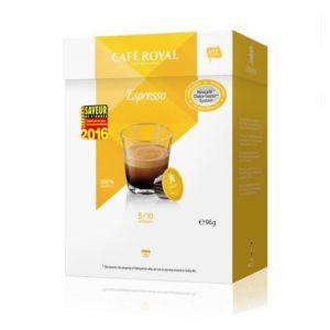 Café Royal 16 capsules Espresso pour machines Dolce Gusto