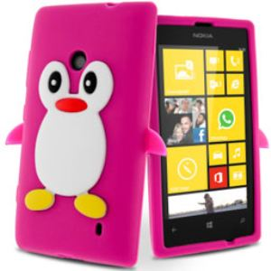 Avizar SILI-PING-FUSH-520 - Coques souples pour Nokia Lumia 520