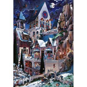 Heye Puzzle Loup: Le château des horreurs 2000 pièces