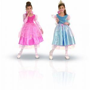 Rubie's Déguisement Princesse enchantée panoplie luxe réversible rose et bleu