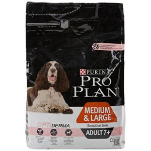 Purina Pro Plan Dog Medium & Large Adult 7+ Sensitive Skin Saumon Optiderma 3 kg