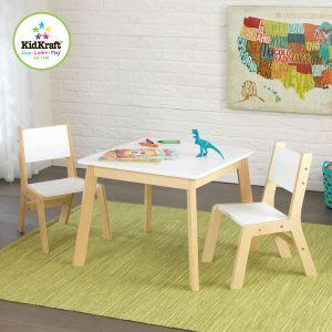 KidKraft Table moderne avec 2 chaises