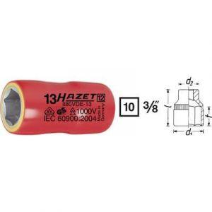 """Hazet 880VDE-7 - Douille à 6 pans Carré creux 10 mm (3/8"""") Taille: 7"""