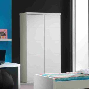 Vipack Furniture Armoire Lara 2 portes 110 x 204 x 57 cm