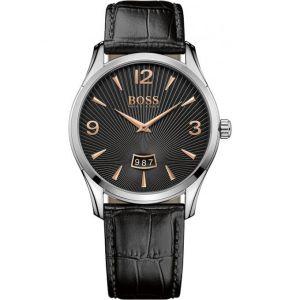 Hugo Boss 1513425 - Montre pour homme avec bracelet en cuir