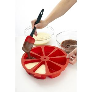 Lékué Moule à gâteau portion Pastel en silicone