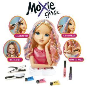 Giochi Preziosi Tête à coiffer Moxie Girlz - Magic Hair : Avery
