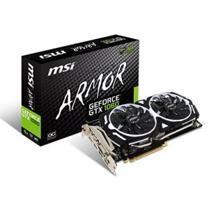 MSI GTX1060ARMOR6GOCV1 - Carte graphique GeForce GTX 1060 6 Go GDDR5 PCI Express x16 3.0