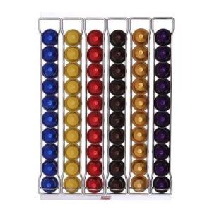 Tavola swiss Fila - Porte capsules à fixation murale pour 60 capsules Nespresso