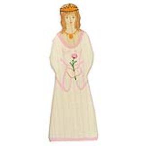 Holztiger Figurine Princesse en bois