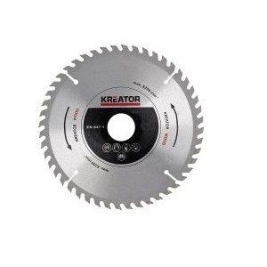 Kreator KRT021352 - Lame de scies circulaires pour bois Diamètre 254 mm Nombre de dents 72 dents Alésage 30 mm Epaisseur 2,8 mm