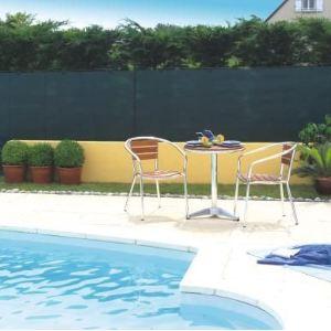 Intermas Gardening 174078 - Natte brise vue tissée Totaltex occultant à 95 % 10 x 1,8 m