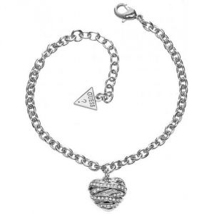Guess UBB21594 - Bracelet chainette coeur pour femme