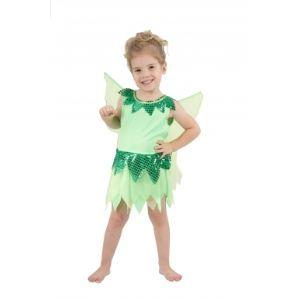 Déguisement fée robe verte fille (1-2 ou 3-4 ans)