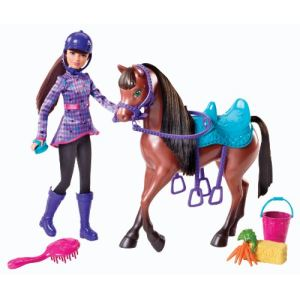 Mattel Barbie et ses soeurs - Skipper et son cheval
