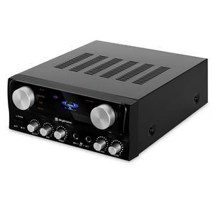 Skytronic 103.102 - Ampli HiFi Stereo Karaoke 2x entrée micro 400W