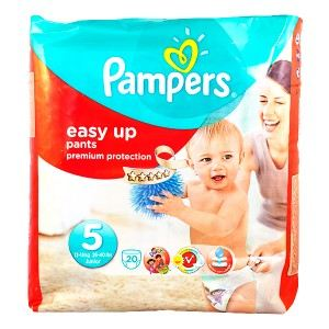 Pampers Easy Up taille 5 Junior (12-18 kg) - 20 couches