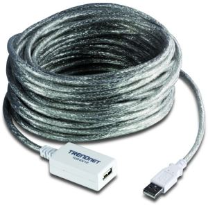 TrendNet TU2-EX12 - Rallonge USB 2.0 avec répéteur 12 m