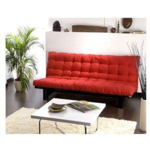 Banquette clic-clac Lara avec matelas futon (135 x 190 cm)