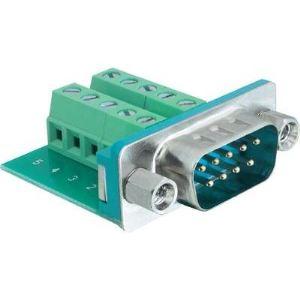 Delock 65269 - Adaptateur Sub-D 9 pin male vers Terminal block 10 pin