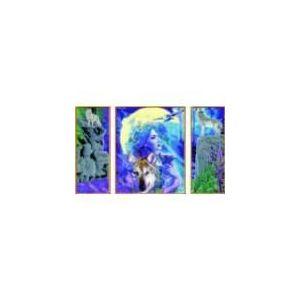 Ravensburger Peinture au numéro - Triptyque : Amitié mystique