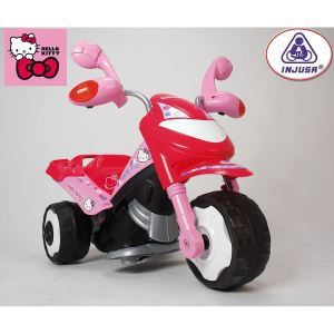 Injusa Scooter électrique Trimoto Hello Kitty 6V