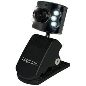 Logilink UA0072 - Webcam avec mode nocturne 6 LED