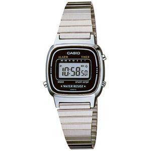 Casio LA-670W - Montre mixte avec bracelet en acier