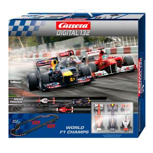 Carrera Toys Digital 132 - Circuit de voitures World F1 Champs 30157