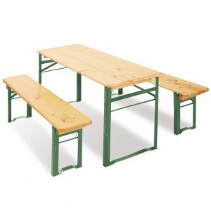 Pinolino Salon de jardin avec table et 2 bancs