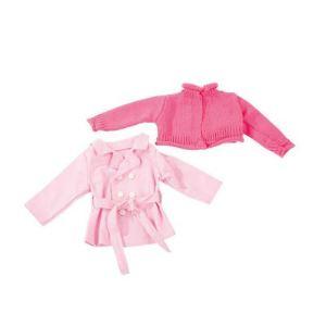 Gotz Vêtements pour poupée : manteau et veste en tricot