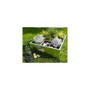 Jany 781451 - Carré potager en zinc 60 x 60 x 25 cm