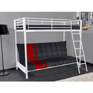 41 offres lit mezzanine banquette obtenez le meilleur prix avec touslesprix. Black Bedroom Furniture Sets. Home Design Ideas