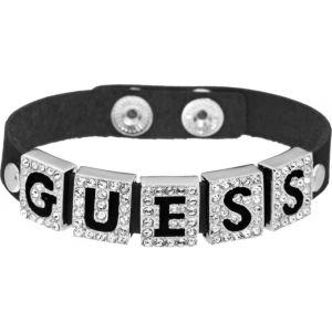 Guess Ubb81317 - Bracelet en cuir et strass