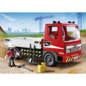 Playmobil chantier comparer 16 offres - Playmobil camion chantier ...