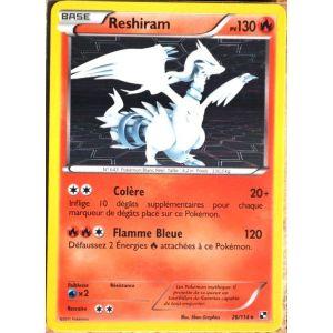 Asmodée Reshiram - Carte Pokémon 26/114 Série Noir & Blanc