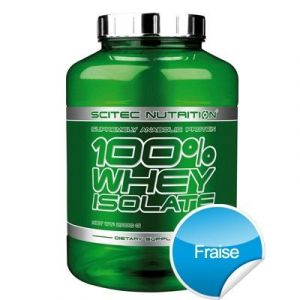 Scitec nutrition 100% Whey Isolate - 2Kg Fraise