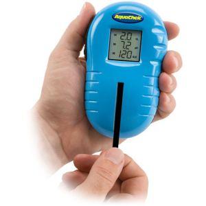 Sunbay Testeur électronique Aquacheck pour pH, chlore, brome libre et alcalinité