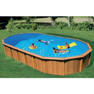 Achat abak c7230 piscine osmose ovale hors sol en m tal for Abak piscine