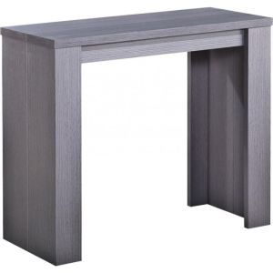 Table console extensible gris comparer 69 offres - Menzzo table console ...